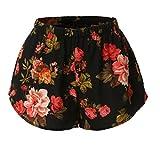 Hot Pants Btruely Damen Beiläufig Shorts Hohe Taille Kurze Hose (XL, Farbe)