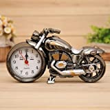 Tolle Motorrad Uhr mit Wecker,Biker Uhr,Chopper