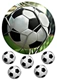 Fußball Tortenaufleger,Geburtstag,Tortendeko