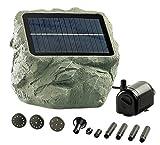 Royal Gardineer Solar Teichpumpe: Solarbetriebene Teichpumpe 'Biosphere' (Solarpumpe)