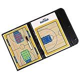 Fiturbo Taktiktafel Basketball Board Coach-Mappe Taktikmappe für Basketball mit Magnet und Stift...