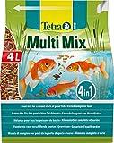 Tetra Pond Multi Mix (ausgewählte Futtermischung aus Flocken, Sticks, Wafern und Gammaruskrebsen...