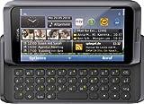 Nokia E7-00 Smartphone (10.2cm (4 Zoll) Clear-Black AMOLED Touchscreen, QWERTZ-Tastatur, 8 MP...