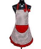 StillCool Schürzen Kochbekleidung Kochschürze Küchenschürze Latzschürze mit Tasche für Frauen...