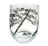 Glas Querflöte schönes Geschenk für Flötisten