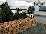Brennholz Buche- Scheitholz, 25cm, kammergetrocknet, Palette á 2 rm
