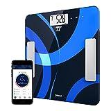 Körperfettwaage TaoTronics Personenwaage Gewichtswaage Digitale Körperwaage mit App-Anbindung zum...