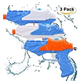 Wasserpistolen Soni 3 PCS Wasser Squirt Gun Für Kinder Water Gun-Pool Party Sommer Outdoor Strand...