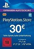 PSN Card-Aufstockung | 30 EUR | PS4, PS3, PS Vita Playstation Network Download Code - deutsches...