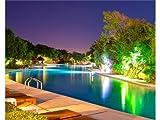 Sylvania–LED-Pool-Lampe, LED-Pool-Leuchte, RGB-LEDs, mehrfarbig + Schraube