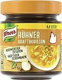 Knorr Hühner Kraftbouillon Glas, 4,4 Liter, 10erPack