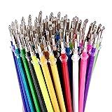 Glitter Gel Pen Refills von Color Technik, Set von 80Glitter und Neon Glitter, keine Duplikate,...