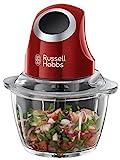 Russell Hobbs 24660-56 Desire Mini-Zerkleinerer, Ein-Hand-Bedientaste, Glasbehälter mit...