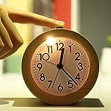 Wecker, Sayou® Tischuhr Holz / Vintage Tischuhr / Holz Tischuhr / Kleiner Wecker Handgemachte...
