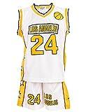 24brands - Jungen Sport Basketball Baseball Shirt Trainings Trikot Teamfarben Chicago Boston Trikot...