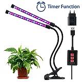 Lovebay 12W 36-LEDs(24 Rote,12 Blaue) Pflanzenlicht Wachstumslampe Pflanzenlampe||Dimmbar 5...