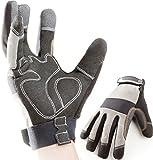 Premium Arbeitshandschuhe, Montagehandschuhe, Mechaniker- Handschuhe, Schutzhandschuhe,...