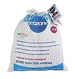 Ecozone SN1KG indische Waschnüsse, ersetzt Waschpulver und andere Waschmittel, preiswerter 1kg...