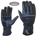 Sommer Motorradhandschuhe von PROANTI Leder Motorrad Handschuhe Größe XL