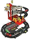 Bburago 15631204 - Bburago Ferrari Parking Garage inklusive 2 Autos, 1:43