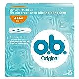 o.b. Original Super Tampons mit geschwungenen Rillen, Für zuverlässigen Schutz ideal für starke...