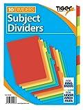 2er-Pack Trennblätter, Trennkarten in der Größe A4, 10 Trennblätter pro Packung, 20Karten...