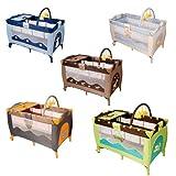 Infantastic Kinderbett (Farbwahl) Klappbett Babybett Laufstall Reisebett Babyreisebett Inkl....