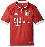 adidas Jungen Fußball/Heim-Trikot FC Bayern München Replica Heimtrikot, FCB True Red/White, 164