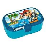 Lunchbox * PIT PLANKE plus WUNSCHNAME * für Kinder von Lutz Mauder // Piraten Brotdose mit...