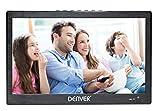 Denver LED-1031 tragbarer 25,6 cm (10,1 Zoll) LED-Fernseher mit integriertem digital TV-Tuner,...