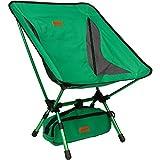 trekology kompakter tragbarer Camping-Stuhl mit verstellbarer Höhe – Ultraleichtwandern-Stuhl in...