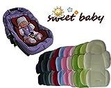 Sweet Baby ** SCHWARZ ** SOFTY MAXI Sitzverkleinerer mit abnehmbarem Kopfteil / NeugeborenenEinsatz...