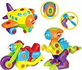 Zerlegbares Spielzeugset für Kleinkinder TG 651 - 3 in 1 zerlegbares Spielzeugset für Jungen mit...