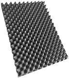 Noppenschaumstoff, Akustik Schaumstoff, Akustikschaumstoff, Dämmung (500 mm x 350 mm x 50 mm)...