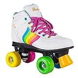 Rookie Forever Rainbow V2Rollschuhe mit 4Rollen, Unisex, für Kinder, Forever Rainbow V2, Weiß...