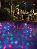 MemoryStar Unterwasserlichtshow mit 4 LED 70055 - Abschaltautomatik - Unterwasserlicht Poollicht - 7...