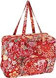 Oilily Painted Flowers Folding shopper Cherry OCB0117-2002, Damen Shopper, rot (Cherry 2002)...