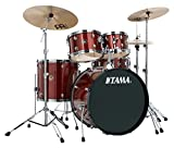Tama RM52KH6-RDS Rhythm Mate Schlagzeug Set (5-teilig) mit 55,8 cm (22 Zoll) Bassdrum inkl....