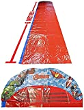 Marvel Avengers Kids Slip and Slide Water Slide with Sprinklers 100x615cm
