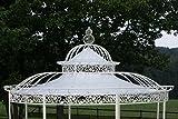 CLP Dach für Luxus Pavillon ROMANTIK (Durchmesser: 350 oder 500 cm), Wasserdichte PVC Plane 350 cm,...