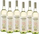 Pilar de Pilars Pinot Grigio Weißwein trocken (6 x 0.75 l)