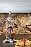 PROFESSIONELLE HAND SAFTPRESSE ZITRUSPRESSE ORANGEN GRANATAPFEL CHROM XL