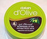 d´Olive Bodybutter DALAN Bodycreme, Intensiv Pflege Creme 250ml mit Olivenöl & Sheabutter