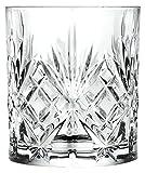 RCR MELODIA Kristall Glas Dekoration Whiskygläser farblos