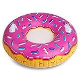 Bigmouth INC bmt-bmst-pd Schlitten Aufblasbar Donut Erdbeere, mehrfarbig