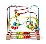 Lewo Motorikschleife aus Holz mit drei verschiedenen Schleifen Tierkreis Roller Coaster um Korn Maze...