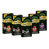 Jacobs Kapseln Vielfaltspaket - 50 Nespresso®*  kompatible Kaffeekapseln aus Aluminium - alle 5...