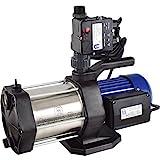 Agora-Tec® AT-Hauswasserwerk-5-1300-10DW, 5 stufige Kreiselpumpe mit max: 5,6 bar und max: 5400l/h...