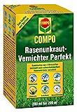 COMPO Rasen Unkrautvernichter Perfekt, Vernichtung von schwerbekämpfbaren Unkräutern, Konzentrat,...