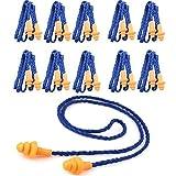 Monkeybrother Weich wiederverwendbar Silikon Gehörschutzstöpsel Ohrstöpsel mit Schnur 10 Stück...